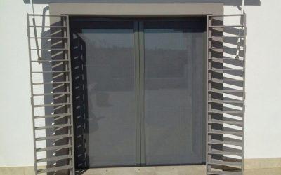 Rejas de seguridad para puertas en Granada