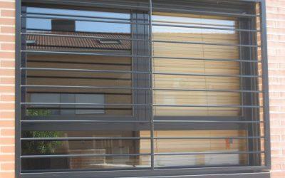 Rejas de seguridad para ventanas en Madrid