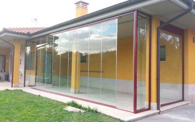 Cortinas de cristal climatizadas en Madrid