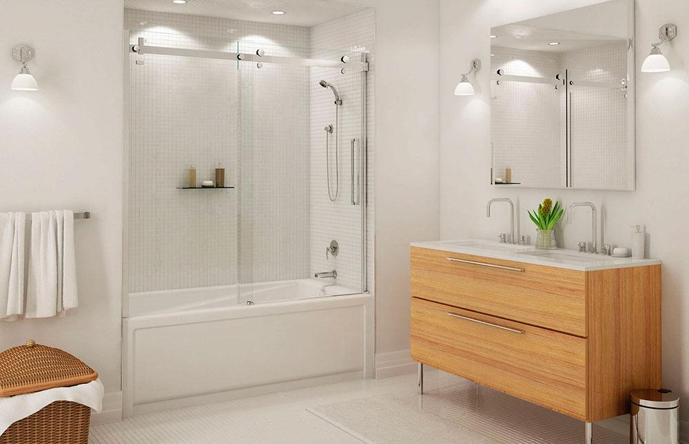 Mampara de cristal para bañera en Madrid